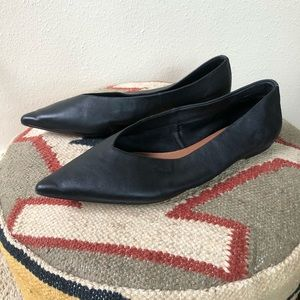 Topshop Pointed Flats Size 8.5